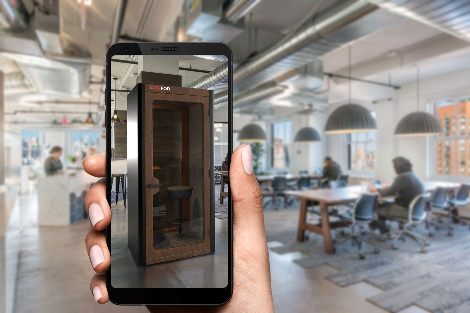 Augmented Reality For BUSYPOD Products